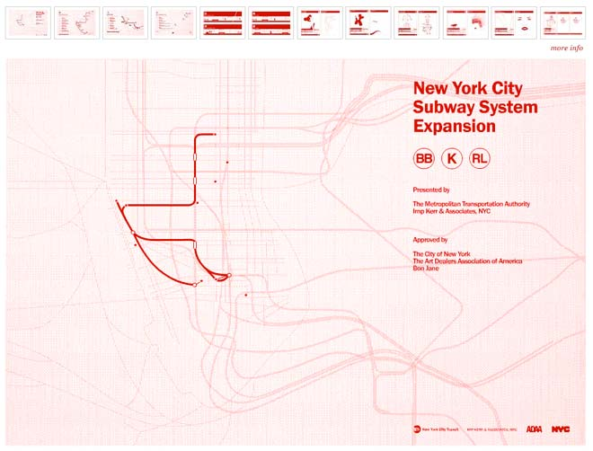 new york city subway lines. the New York City subway